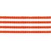 Delica 10/0 Rd Red Orange Transparent